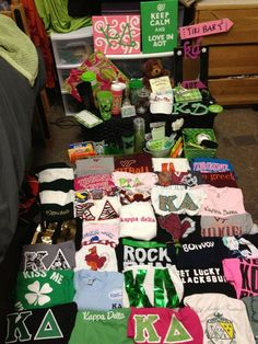 I would die if I got that many shirts! How cool!