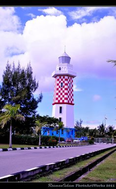 Lighthouse - Lumut Brunei Darussalam.
