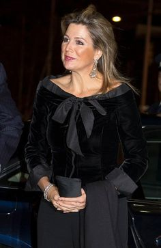 22 NOVEMBER 2014 Queen Maxima at 110th anniversary Residentie Orchestra King Willem-Alexander and Queen Maxima of The Netherlands attends the jubilee concert of the Residentie Ochestra in the Dr. Anton Philipszaal in The Hague, The Netherlands, 21 November 2014.