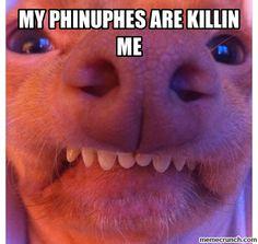 Hahaha!!!!  My sinuses are killing me!!