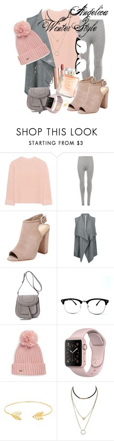 """Angelica Winter Style"" by flowers-and-flamingos ❤ liked on Polyvore featuring iHeart, WearAll, Schutz, Duffy, MKF Collection, Calvin Klein, Lord & Taylor, Charlotte Tilbury and modern"