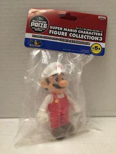 (TAS013425) - Banpresto Super Mario Characters Figure Collection 3 - Mario Mario Toys, Super Mario, Vintage Toys, Characters, Random, Collection, Old Fashioned Toys, Figurines, Old School Toys