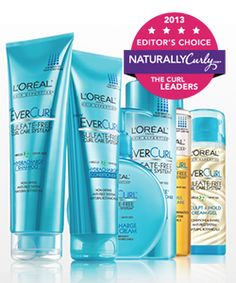 2013 Editors Choice Awards for curly hair products