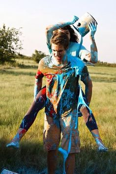 Paint fight. YES. ABSOLUTELY.