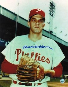 Autographed Art Mahaffey Philadelphia Phillies 8x10 Photo