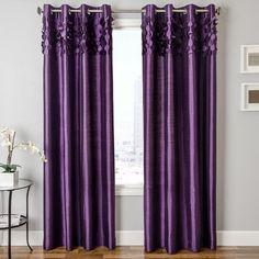 Shop for Softline Betta Grommet Top Curtain Panel - 54 x Get free delivery On EVERYTHING* Overstock - Your Online Home Decor Outlet Store!