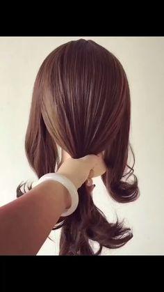 hairstyles for long hair videos Hairstyles Tutorials Compilation 2019 Girl Hairstyles, Braided Hairstyles, Hairstyles Videos, School Hairstyles, Hair Upstyles, Long Hair Video, Easy Hairstyle Video, Brown Blonde Hair, Grunge Hair