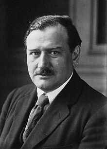 Édouard Daladier, en 1924. Maires, Député, Président du Conseil des ministres français et Ministre (1884-1970)