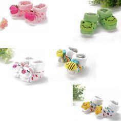 Kids Baby Unisex Newborn Animal Cartoon Socks Cotton Shoes Booties Boots  0-10M Free Drop shipping. Detské Topánočky de464c5d3d7