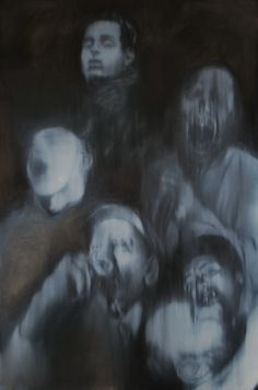 Drunkers 2013 - Oil on canvas - 1,50 x 1,00 m