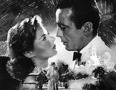 """Ingrid Bergman and Humphrey Bogart in """"Casablanca They're all around you; those stories that people frown upon because they seem too good. Humphrey Bogart, Ingrid Bergman, Old Movies, Great Movies, Casablanca 1942, Casablanca Movie, Oscar Winning Movies, Cinema, Romantic Movies"""