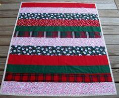 Strip quilt...Christmas.