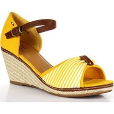 DIVA STAR WC08 żółte sandały damskie espadryle