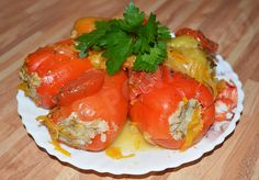 Фаршированный болгарский перец http://mega-povar.ru/farshirovannyj-bolgarskij-perec/  #мегаповар #кулинария #кухня #рецепт #еда