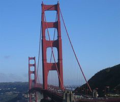The Golden Gate bridge in San Francisco is one amazing place