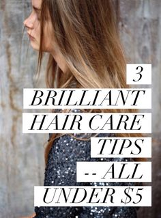 Budget friendly hair care tips!