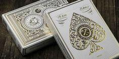 Artisan White Edition PlayingCards - The Dieline -