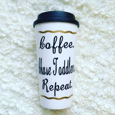 Travel coffee mug that is a Perfect gift for nannies, babysitters, or daycare teachers!  Gift for daycare provider Daycare teacher gift Nanny gift idea