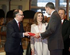 King Felipe and Queen Letizia attended the FITUR International Tourism Fair opening at Ifema in Madrid