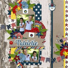 Using Freedom Fest by Melissa Bennett Designs​ and a template by Cindy Schneider http://www.sweetshoppedesigns.com/sweetshoppe/product.php?productid=31108&cat=755&page=2