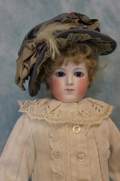 """16"""" Antique French Fashion Doll by Eugene Barrois c.1870s Chantilly Face Dressed   eBay"""