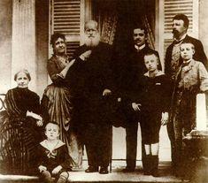 D. Pedro II e família em Petrópolis, pouco antes do fim do Império
