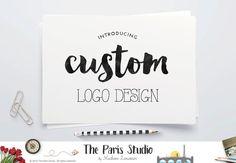 Complete Custom Logo Design Website Logo Blog Logo Boutique Logo Branding Business Logo Watercolor Vintage Retro Logo Wedding Monogram Logo