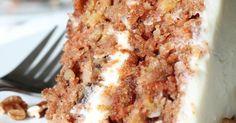 FINALLY... The World's Greatest Carrot Cake Recipe EVER