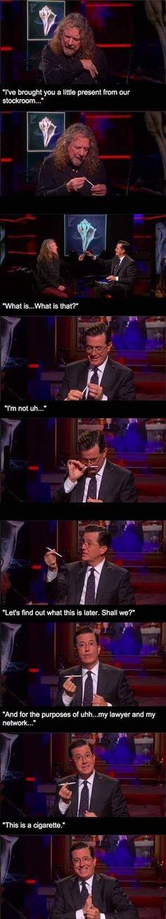 Colbert is the best
