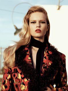 model: anna ewers (women) photographer: craig mcdean artandcommerce) stylist: alex white hair: jimmy paul (susanprice) make-up: francelle (artandcommerce)