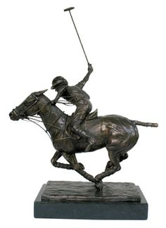 "Marcela Ganly, Argentine Contemporary ""Swing II"" Bronze, Edition of 12 x 13 x 5 ½ inches, Signed and Numbered Horse Sculpture, Bronze Sculpture, Le Polo, Plastic Art, Horse Art, Wearable Art, Deco, Equestrian, Horses"