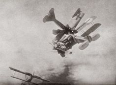 A British 'Bristol' and a German 'Fokker' collide in mid-air during a dog fight World War I - 90 Miles From Tyranny