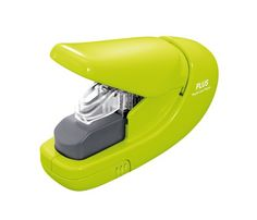 Plus PAPER CLINCH Compact GREEN Heavy Duty, Light, Staple...