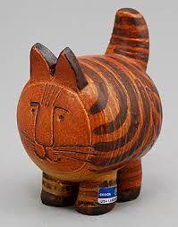 Red Cat,Lisa Larson, Gustavsberg, Sweden