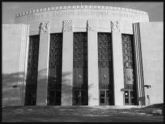 Art Deco Horace H. Rackham Educational Memorial Building, Detroit