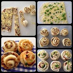 The road to loving my Thermomix: Scrolls and great bread recipes! Scrolls Recipe, Thermomix Bread, Tapas, Bellini Recipe, Fingerfood Party, Little Lunch, Lunch Box Recipes, Lunchbox Ideas, Savory Snacks