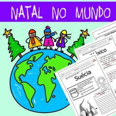 20 páginas com atividades sobre o Natal em 7 países. Saiba mais e veja a AMOSTRA no http://www.janainaspolidorio.com/natal-no-mundo.html