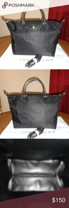 New Black Series Longchamp Le Pliage Medium Neo qgYg1vXx