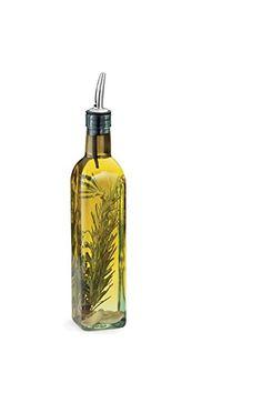 Clear Grant Howard 50864 16 oz Chef Leone Oil and Vinegar Cruet