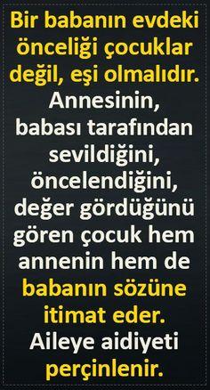 Önceliğiniz eşiniz olmalıdır - Dr. Yaşar Kuru Osho, Family Activities, Wise Words, Einstein, Psychology, Parents, Jokes, Education, Candle