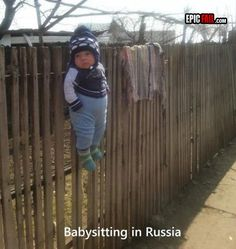 This Is What Babysitting In Russia Looks Like