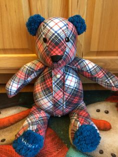 Memory Bear for a boy to remember is Grandmothers!