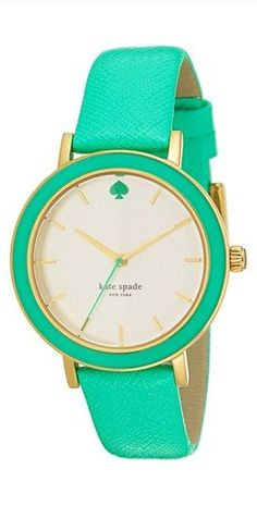 Kate Spade jade color watch