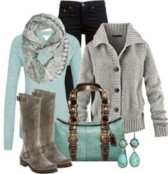 Winter Work outfit