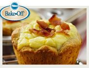 Bacon Quiche biscuit cups...I would probably use vegan bacon bits.