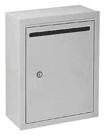 Letter Box (Includes Commercial Lock) - Standard - Surface Mounted - Aluminum - Private Access by Salsbury Industries. $149.06. Letter Box (Includes Commercial Lock) - Standard - Surface Mounted - Aluminum - Private Access - Salsbury Industries - 820996240729