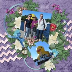 Kit used: Country Vacation by PattyB Scraps. Layout created by moemc.