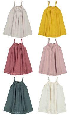 Cotton crepe mia dress numero 74 little poppits детская одеж Little Girl Outfits, Little Girl Fashion, Kids Fashion, Trendy Fashion, Inspiration Mode, Kind Mode, Simple Dresses, Kids Wear, Baby Dress