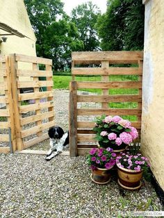 37 creative ways to use pallets in your garden |  #palette Awesome...