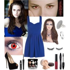 Be Bella Cullen for Halloween / Karneval, created by natihasi on Polyvore